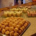 Assortiments des desserts